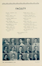 Page 17, 1933 Edition, Middle Tennessee State University - Midlander Yearbook (Murfreesboro, TN) online yearbook collection