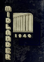 Page 1, 1940 Edition, Middle Tennessee State University - Midlander Yearbook (Murfreesboro, TN) online yearbook collection
