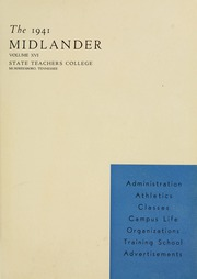 Page 5, 1941 Edition, Middle Tennessee State University - Midlander Yearbook (Murfreesboro, TN) online yearbook collection