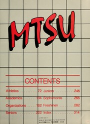 Page 5, 1985 Edition, Middle Tennessee State University - Midlander Yearbook (Murfreesboro, TN) online yearbook collection