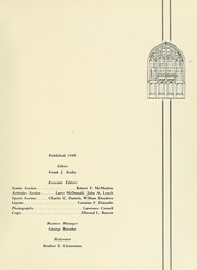 Page 5, 1949 Edition, La Salle University - Explorer Yearbook (Philadelphia, PA) online yearbook collection
