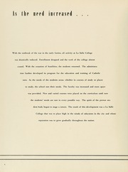 Page 8, 1949 Edition, La Salle University - Explorer Yearbook (Philadelphia, PA) online yearbook collection