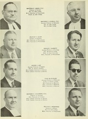 Page 14, 1951 Edition, La Salle University - Explorer Yearbook (Philadelphia, PA) online yearbook collection