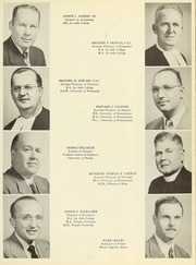 Page 17, 1951 Edition, La Salle University - Explorer Yearbook (Philadelphia, PA) online yearbook collection