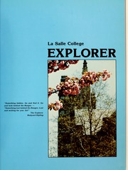 Page 5, 1982 Edition, La Salle University - Explorer Yearbook (Philadelphia, PA) online yearbook collection