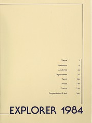 Page 3, 1984 Edition, La Salle University - Explorer Yearbook (Philadelphia, PA) online yearbook collection