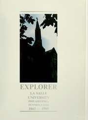 Page 5, 1988 Edition, La Salle University - Explorer Yearbook (Philadelphia, PA) online yearbook collection