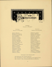 Page 10, 1898 Edition, Massachusetts Institute of Technology - Technique Yearbook (Cambridge, MA) online yearbook collection