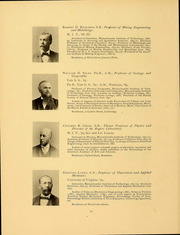 Page 14, 1898 Edition, Massachusetts Institute of Technology - Technique Yearbook (Cambridge, MA) online yearbook collection