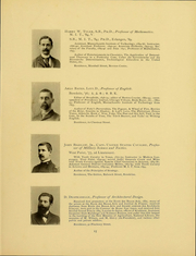 Page 17, 1898 Edition, Massachusetts Institute of Technology - Technique Yearbook (Cambridge, MA) online yearbook collection