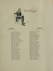Page 17, 1899 Edition, Massachusetts Institute of Technology - Technique Yearbook (Cambridge, MA) online yearbook collection
