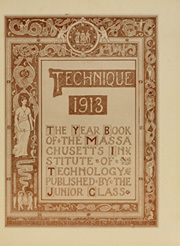 Page 11, 1913 Edition, Massachusetts Institute of Technology - Technique Yearbook (Cambridge, MA) online yearbook collection