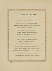Page 14, 1913 Edition, Massachusetts Institute of Technology - Technique Yearbook (Cambridge, MA) online yearbook collection