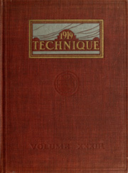 1919 Edition, Massachusetts Institute of Technology - Technique Yearbook (Cambridge, MA)