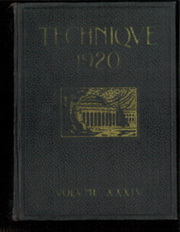 1920 Edition, Massachusetts Institute of Technology - Technique Yearbook (Cambridge, MA)