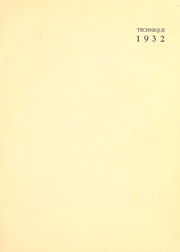 Page 4, 1932 Edition, Massachusetts Institute of Technology - Technique Yearbook (Cambridge, MA) online yearbook collection