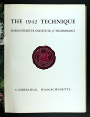 Page 9, 1942 Edition, Massachusetts Institute of Technology - Technique Yearbook (Cambridge, MA) online yearbook collection