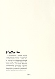 Page 10, 1943 Edition, York College of Pennsylvania - Horizon Tower Yearbook (York, PA) online yearbook collection