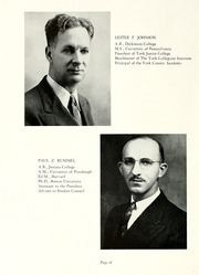 Page 16, 1943 Edition, York College of Pennsylvania - Horizon Tower Yearbook (York, PA) online yearbook collection