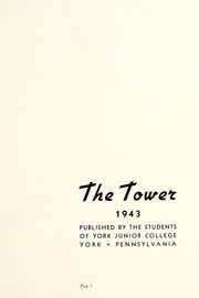 Page 5, 1943 Edition, York College of Pennsylvania - Horizon Tower Yearbook (York, PA) online yearbook collection