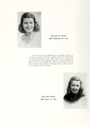Page 10, 1947 Edition, York College of Pennsylvania - Horizon Tower Yearbook (York, PA) online yearbook collection