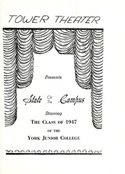 Page 7, 1947 Edition, York College of Pennsylvania - Horizon Tower Yearbook (York, PA) online yearbook collection