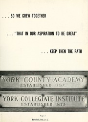 Page 7, 1948 Edition, York College of Pennsylvania - Horizon Tower Yearbook (York, PA) online yearbook collection