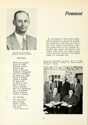 Page 12, 1954 Edition, York College of Pennsylvania - Horizon Tower Yearbook (York, PA) online yearbook collection
