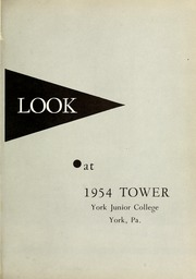 Page 5, 1954 Edition, York College of Pennsylvania - Horizon Tower Yearbook (York, PA) online yearbook collection