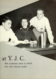 Page 9, 1954 Edition, York College of Pennsylvania - Horizon Tower Yearbook (York, PA) online yearbook collection