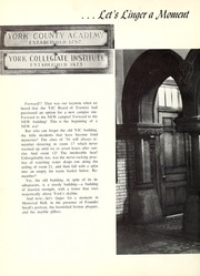 Page 8, 1956 Edition, York College of Pennsylvania - Horizon Tower Yearbook (York, PA) online yearbook collection