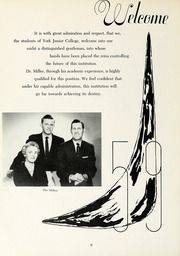Page 10, 1959 Edition, York College of Pennsylvania - Horizon Tower Yearbook (York, PA) online yearbook collection