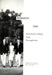 Page 5, 1966 Edition, York College of Pennsylvania - Horizon Tower Yearbook (York, PA) online yearbook collection