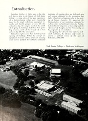 Page 6, 1966 Edition, York College of Pennsylvania - Horizon Tower Yearbook (York, PA) online yearbook collection