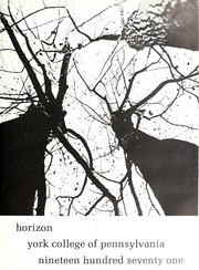 Page 13, 1971 Edition, York College of Pennsylvania - Horizon Tower Yearbook (York, PA) online yearbook collection
