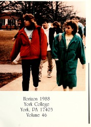 Page 5, 1988 Edition, York College of Pennsylvania - Horizon Tower Yearbook (York, PA) online yearbook collection