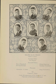 Page 14, 1918 Edition, Stuyvesant High School - Indicator Yearbook (New York, NY) online yearbook collection