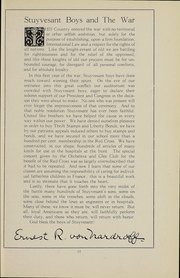 Page 17, 1918 Edition, Stuyvesant High School - Indicator Yearbook (New York, NY) online yearbook collection