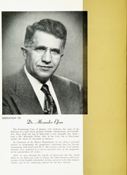 Page 10, 1951 Edition, Stuyvesant High School - Indicator Yearbook (New York, NY) online yearbook collection