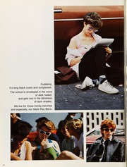 Page 18, 1986 Edition, Stuyvesant High School - Indicator Yearbook (New York, NY) online yearbook collection