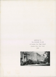Page 6, 1939 Edition, Garden City High School - Mast Yearbook (Garden City, NY) online yearbook collection