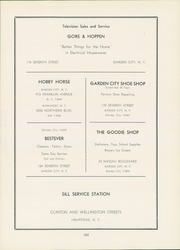 Page 109, 1951 Edition, Garden City High School - Mast Yearbook (Garden City, NY) online yearbook collection