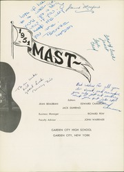 Page 7, 1951 Edition, Garden City High School - Mast Yearbook (Garden City, NY) online yearbook collection