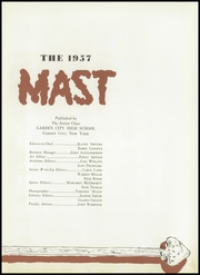 Page 7, 1957 Edition, Garden City High School - Mast Yearbook (Garden City, NY) online yearbook collection