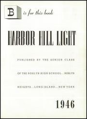 Page 9, 1946 Edition, Roslyn High School - Harbor Hill Light Yearbook (Roslyn Heights, NY) online yearbook collection