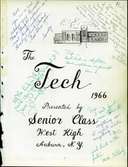 Page 5, 1966 Edition, West High School - Tech Yearbook (Auburn, NY) online yearbook collection