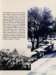 Page 11, 1961 Edition, West Babylon High School - Eagle Yearbook (West Babylon, NY) online yearbook collection