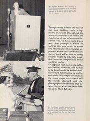 Page 12, 1961 Edition, West Babylon High School - Eagle Yearbook (West Babylon, NY) online yearbook collection