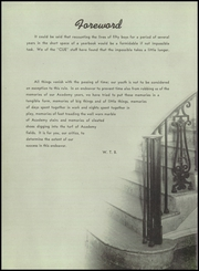 Page 12, 1950 Edition, Albany Academy - Cue Yearbook (Albany, NY) online yearbook collection