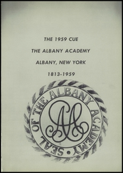 Page 5, 1959 Edition, Albany Academy - Cue Yearbook (Albany, NY) online yearbook collection